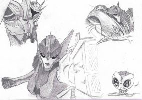 TF:Prime Sketches by Lauridia