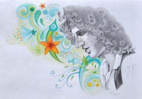Brian May by NinjaTofuPrincess