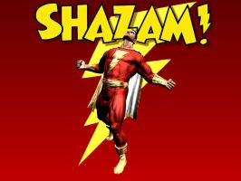 Captain Marvel Shazam WP by Superman8193