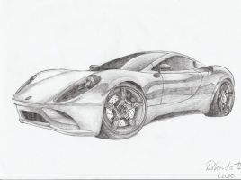 Ferrari Dino concept 2010 by UltimateRT