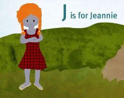 J is for Jeannie by whosname