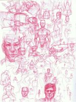 sketchbook page 1 by Chewyee