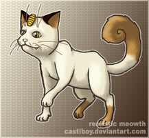 realistic meowth by castiboy