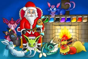Eon Family XMAS - ContestEntry by PokemonMasta