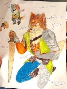 Wolven Warrior by Panda-Poodle