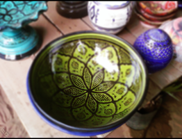 Moroccan Traditional Pottery 1 by mrz-art