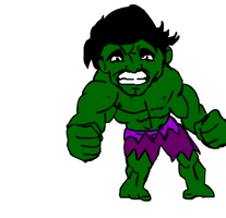 Transformation hulk to bruce colored Gif by Gman20999