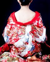 Kimono back in red by moloko