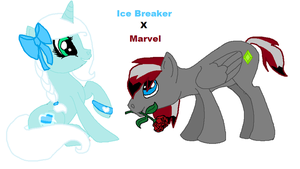 Contest Entry Ice Breaker X Marvel by Honey-PawStep