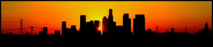 Los Angeles Sunset by Pandaxel