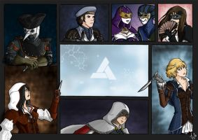 Abstergo agents by amucchina