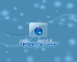 Happy Holidays Blue by RPGuere