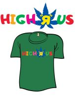 High R Us - 4:20 by AliceGraphix