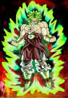 Collab - Broly by Patty-Chan