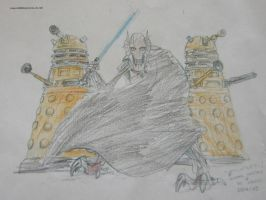 Grievous And The Daleks by Tiger-Prime