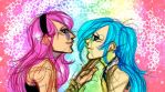 Colorful Girls by Prussianvenom