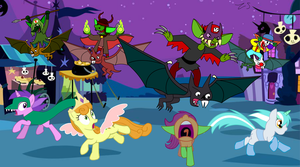 The Goblins Have The Great Nightmare Night Spirit by Zacharygoblin55