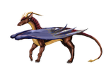 Skyrunner the Dragora by moondragonwings