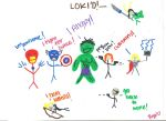 The Avengers by BarnOwlLove