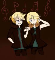 Len and Rin by Danut10B