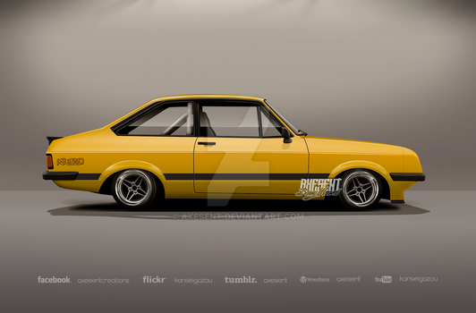 Escort Mk2rs by Axesent