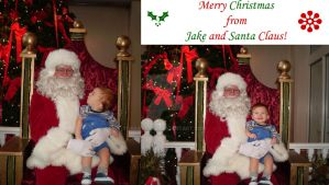Jake and Santa by nikayla45