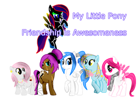 My Little Pony : Friendship is Awesomeness by Yiag