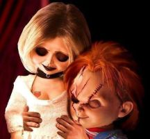 Chucky and Tiff by TiffanyRay212