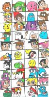 Can you name them all? by cmara