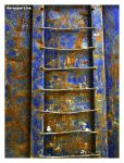 blue ladder by davespertine