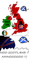Uk - Not Uk : Scotland can into independance by Scipia