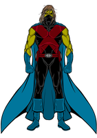 Martian Manhunter 2099 by BornAnimeFreak