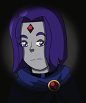 Christmas Requests: Raven by KitKatsArt