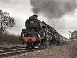 Full steam ahead by Jamie-MacArthur