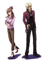 Klavier and  Ema by izzy1992