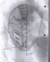 The Faces of Sektor_Sketch by Michaelthevampire7