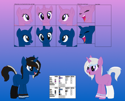 .:Ref:. The Twins by DJStriderNuggs