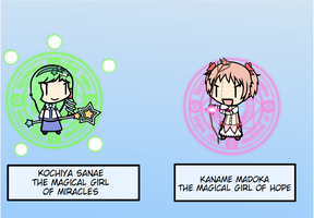 Magical Girls of hope and miracles by PuyoPuyoNut722