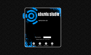 Ubuntu Studio GDM different by lehighost