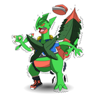 Mega Sceptile TF by PikachuFan60