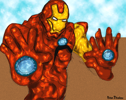 Iron Man frenzy by Bicabo