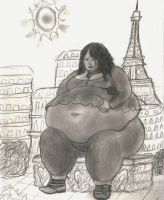 Kristina in Paris by ShapeshifterPharaoh