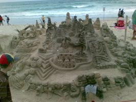 Crazy Sandcastle - Amazing by smilesarebetter