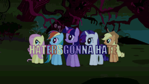 Haters Gonna Hate by Aquarior