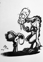 Inktober 2015 -- Day seven by fnook