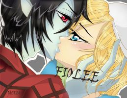Fiolee Kiss by jack104