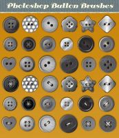 Button Photoshop Brushes by Jeremychild