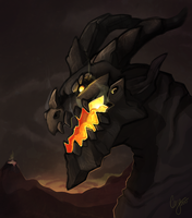 Deathwing by CasyNuf