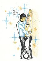 Tell me you are mine [Spirk] by AloiInTheSky