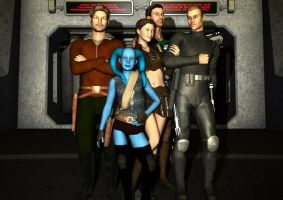 Heroes of the Old Republic by Colonel-Azzameen